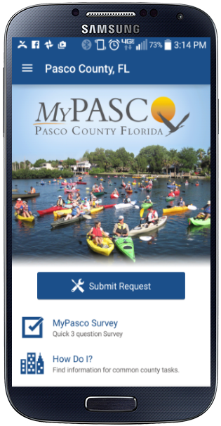 Mypasco on Andriod device