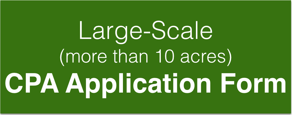 Large-Scale (more than 10 acres) CPA Application Form