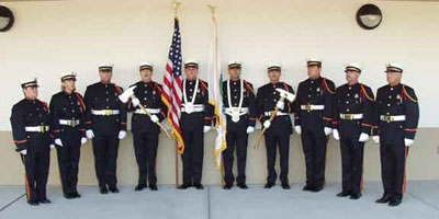Honor Guard group picture