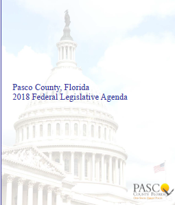 Pasco 2018 Federal Legislative Agenda cover