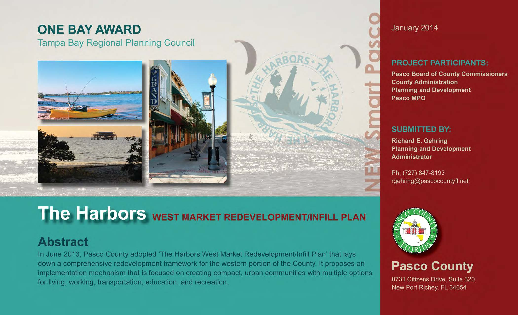 The Harbors West Market Redevelopment / Infill Plan