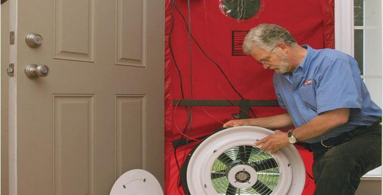 Blower Door Test Guy