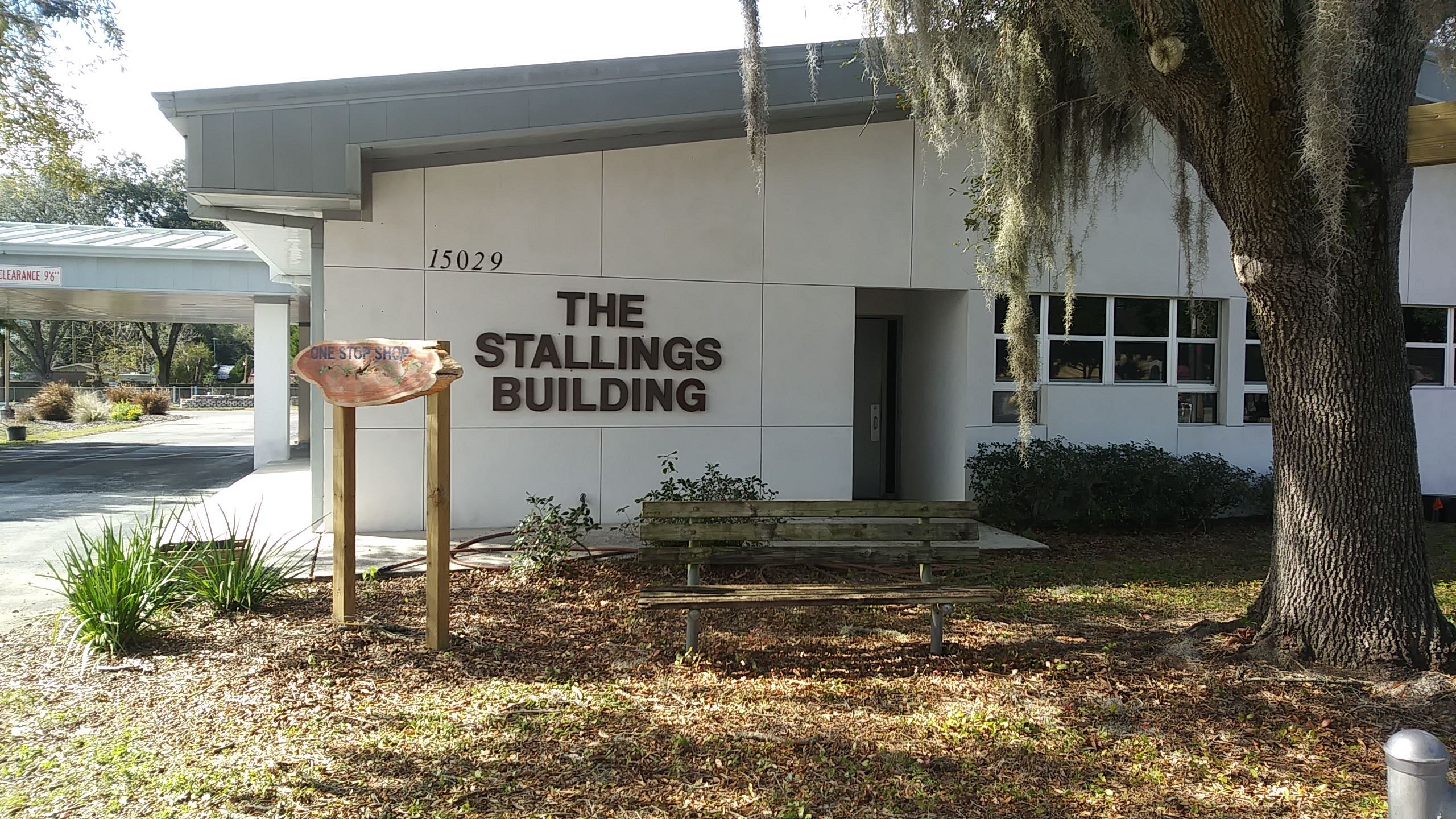 One Stop Shop Stallings Bldg. Front of Building Photo