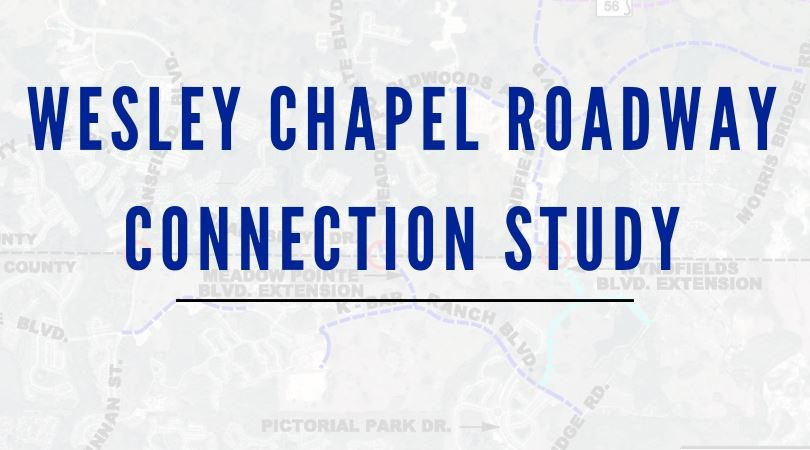 Wesley Chapel Roadway Header