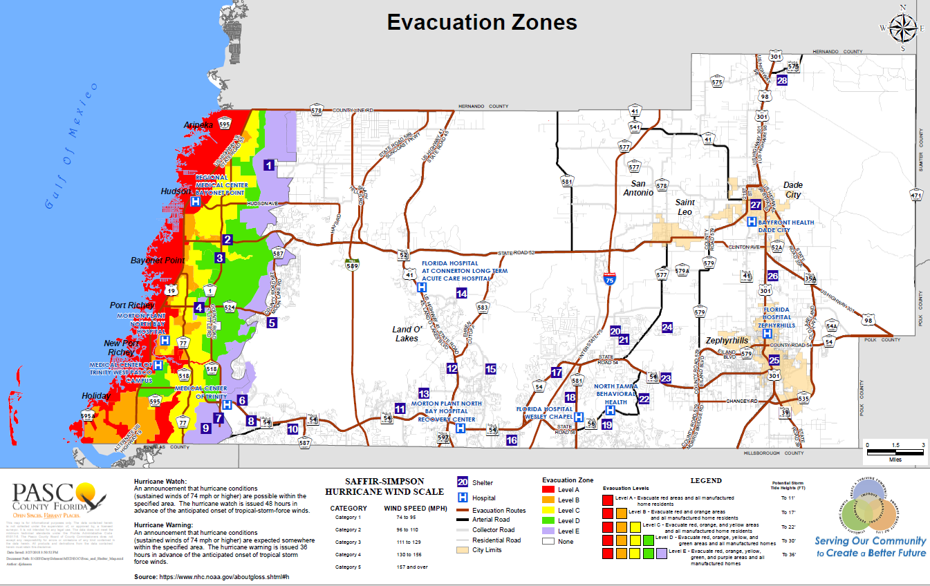 Check Your Evacuation Zone