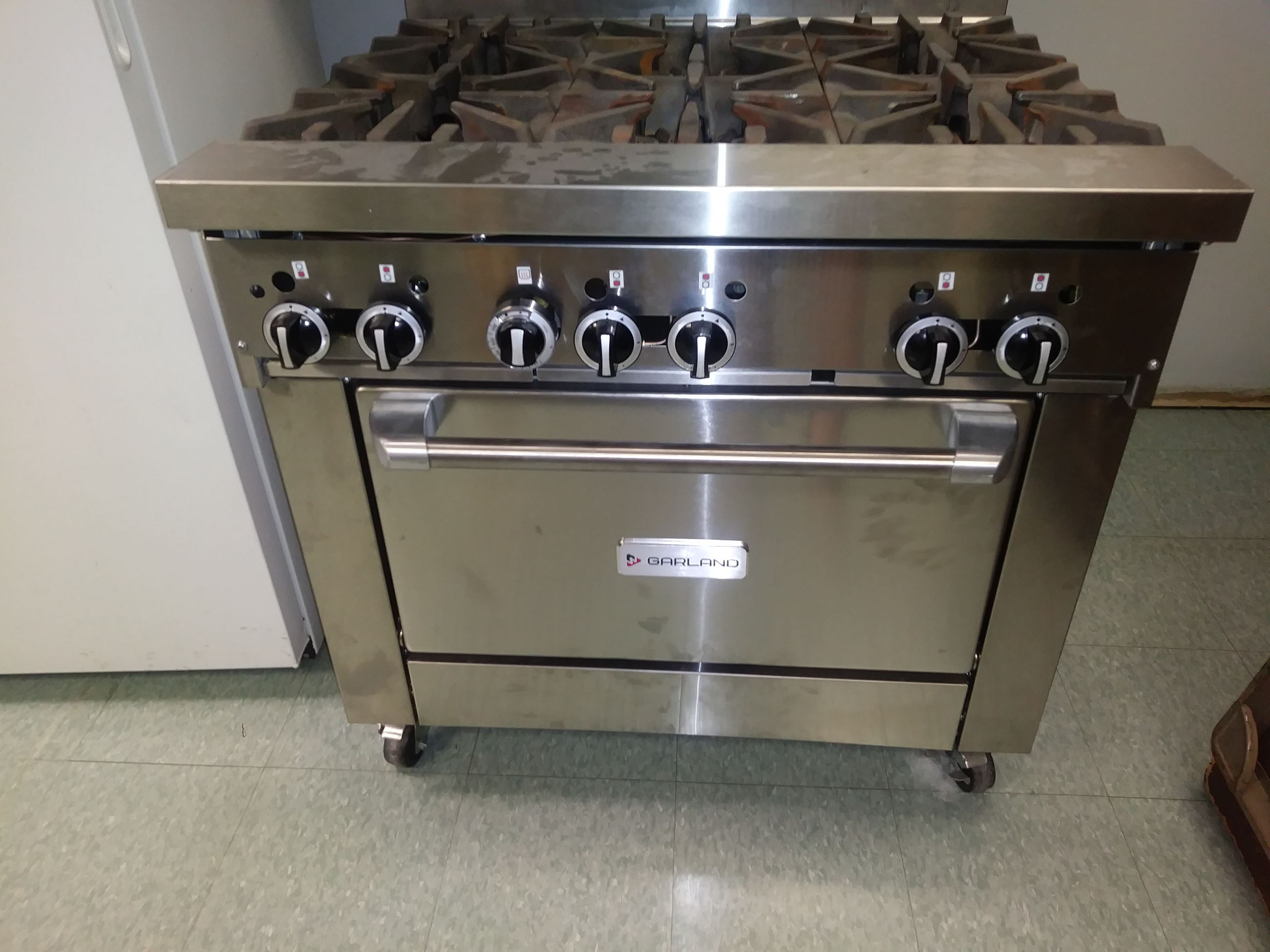 Six Range Stove - Incubator Kitchen