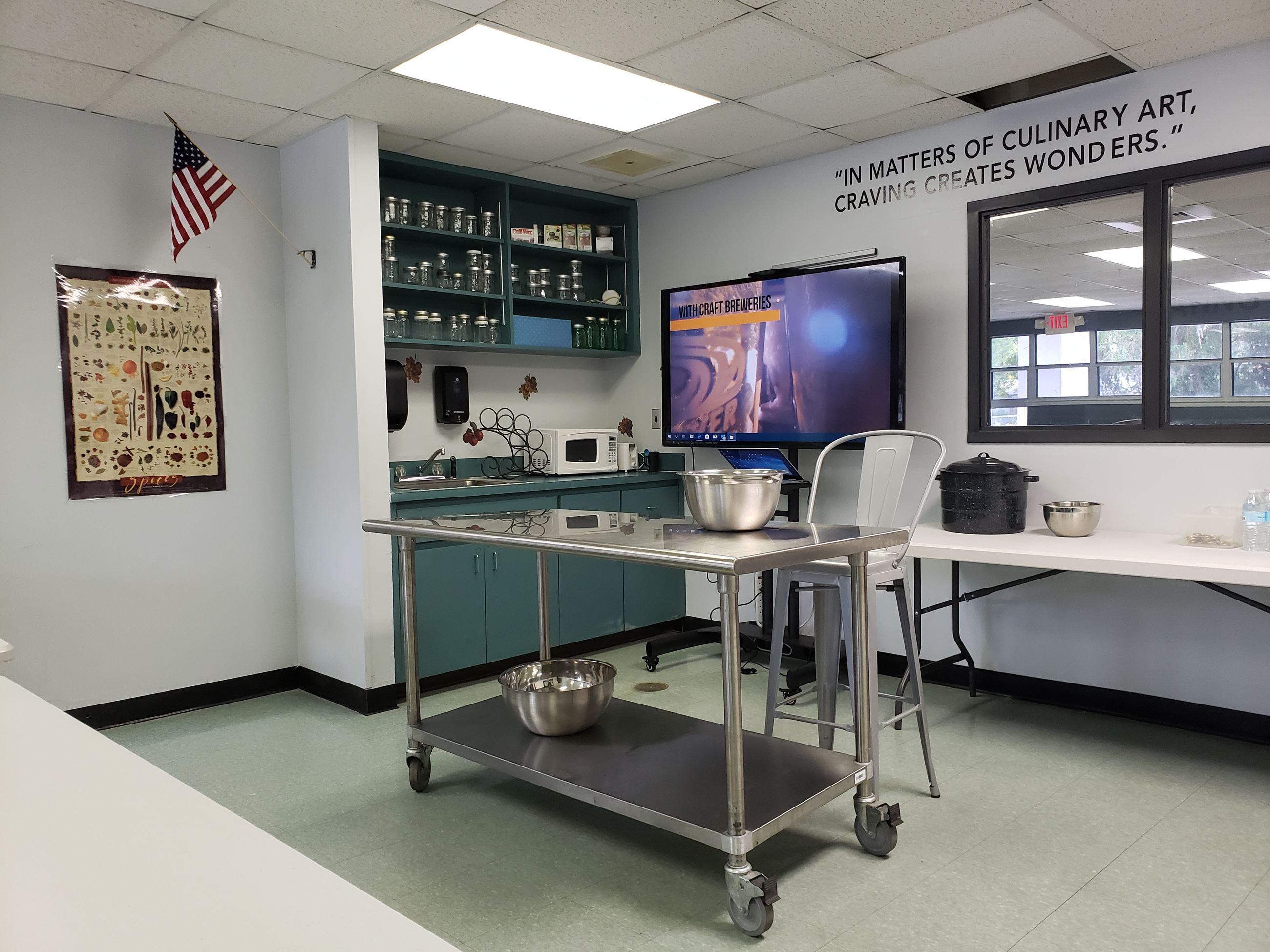 East Pasco Incubator Kitchen Culinary Classroom