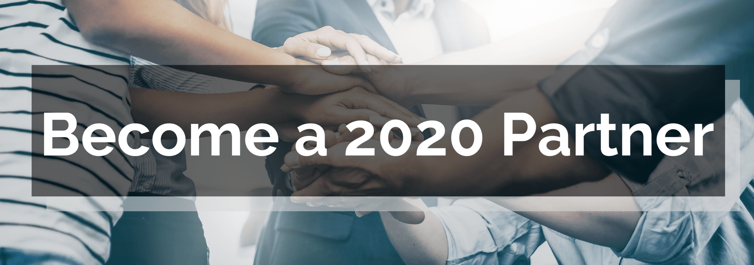 Census 2020 Partner banner