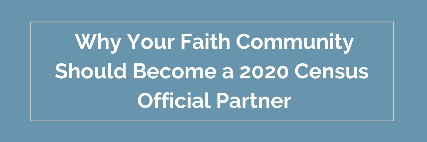 Faith Community becoming partner button