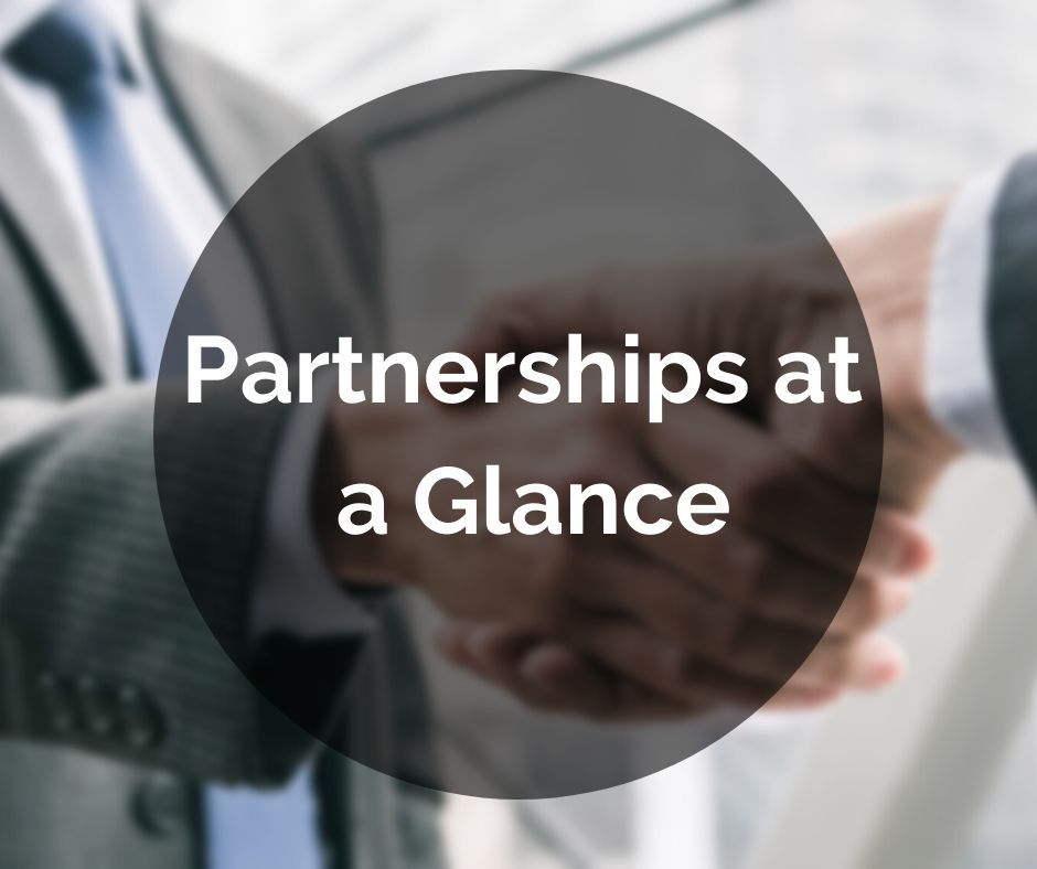 Partnerships at a Glance Button