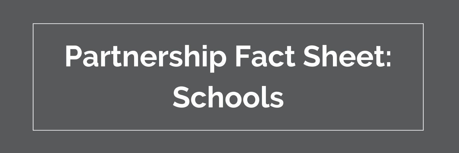 schools partnership fact sheet button