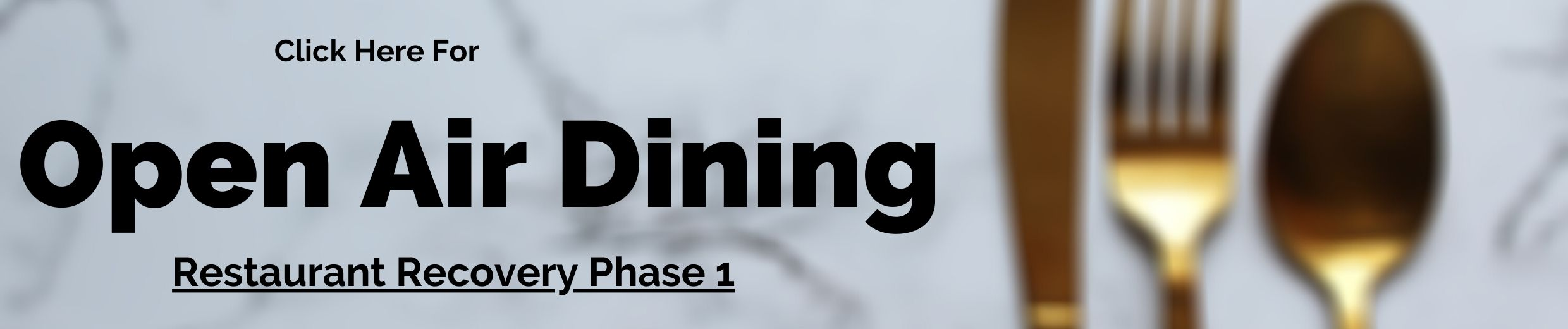 Open Air Dining Button