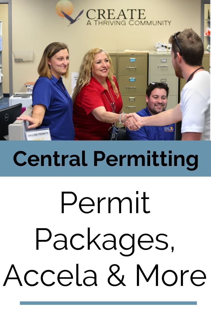 Central Permitting button