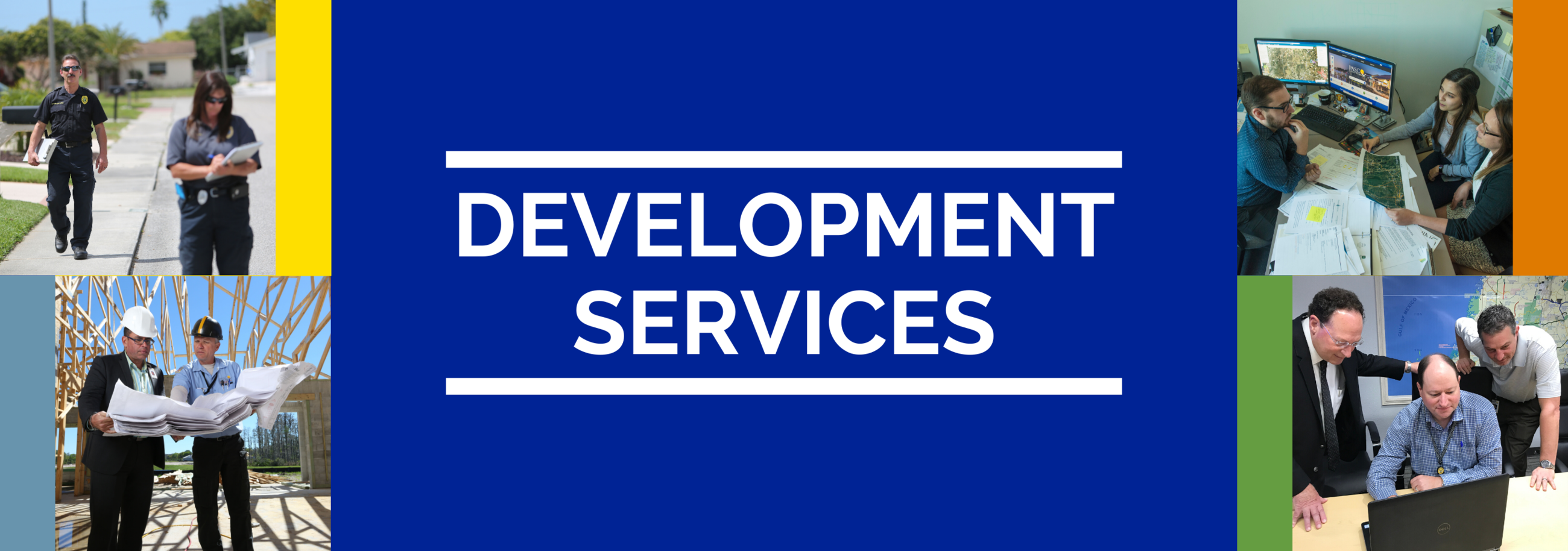Development Services banner