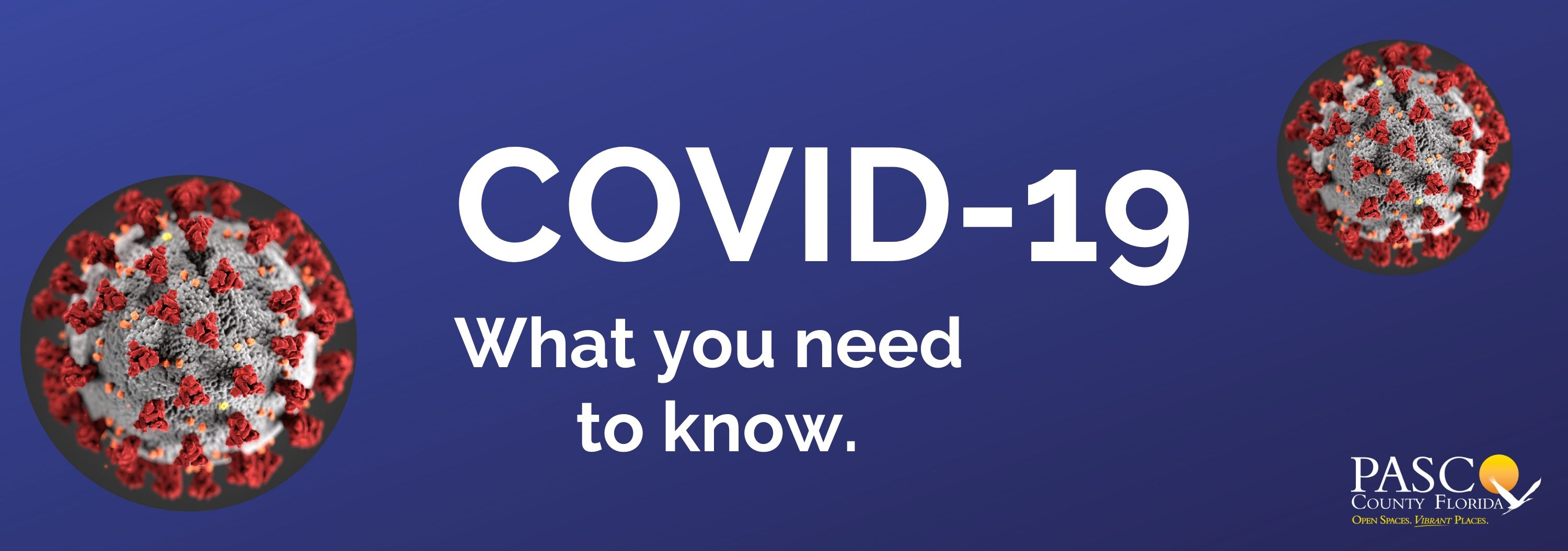 COVID 19 Updates Banner