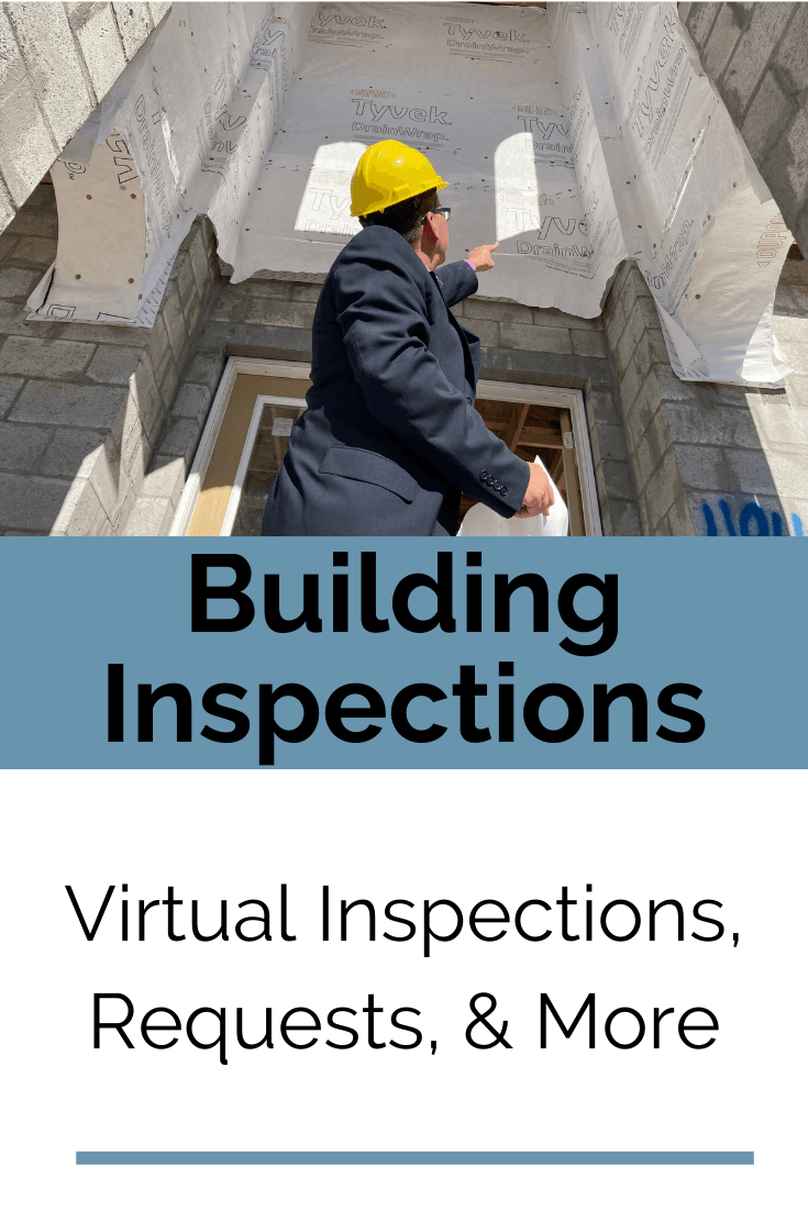 Building Inspections Button