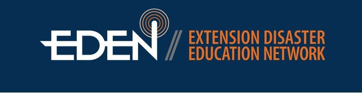 Extension Disaster Education Network (EDEN) Banner